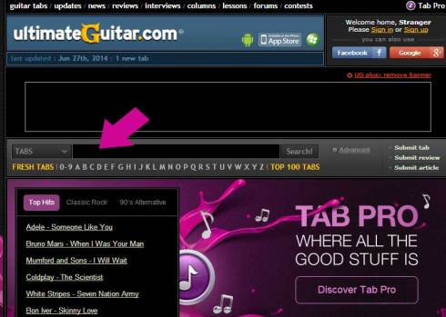 how to download guitar pro tabs from ultimate guitar